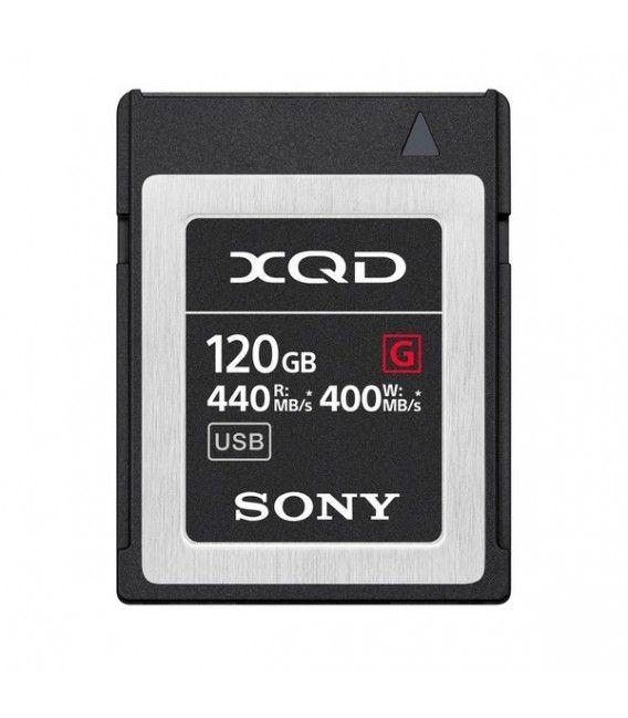 SONY XQD 120G SERIES G 400 MB/s QD-G120F