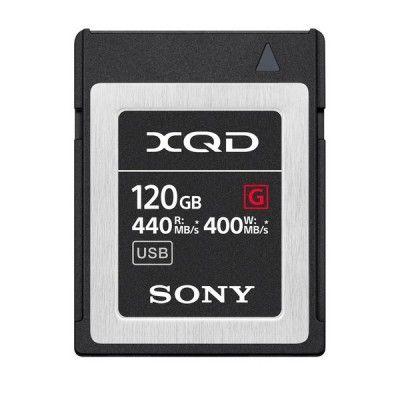 SONY XQD 120GB G SERIES 400 MB/s QD-G120F