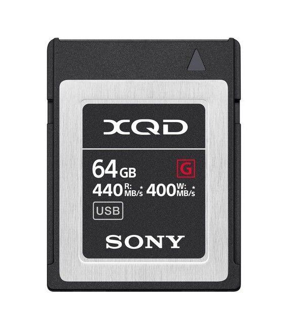 SONY XQD 64GB G SERIES 400 MB/s QD-G64E