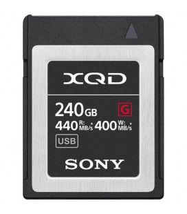 SONY XQD 240GB G SERIES 400 MB/s QD-G240F