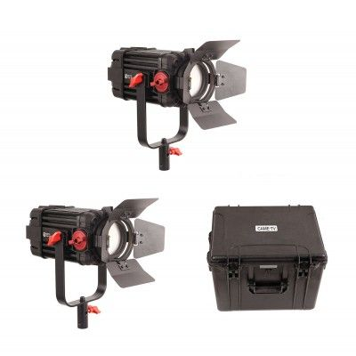 CAME-TV F-100S Boltzen 100w Fresnel Focusable LED Bi-Color (2 Lights Kit)