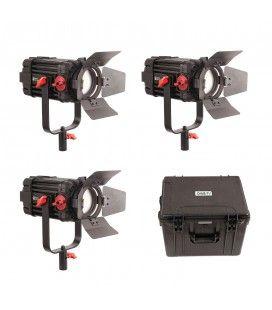 CAME-TV F-100S Boltzen 100w Fresnel Focusable LED Bi-Color (3 Lights Kit)