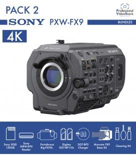 Pack 2 Sony PXW-FX9