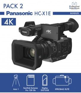 Pack 2 Panasonic HC-X1E