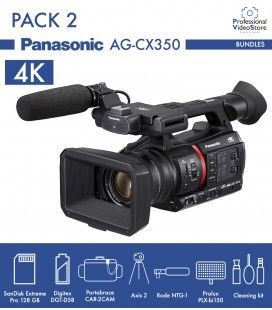 Pack 2 Panasonic AG-CX350