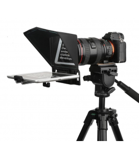 Desview T2 Portable Teleprompter for Smartphone, Tablet and DSLR Camera