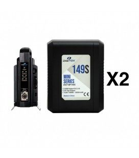Pack 2 Digitex Mini Series DGT-BP149s + DGT-BP2