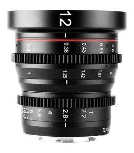 Meike 12mm T2.2 Manual Focus Wide Angle Cinema Lens (MFT Mount)
