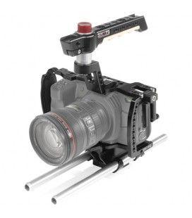 SHAPE Blackmagic Pocket cinema 4k, 6k cage with 15 mm rod system