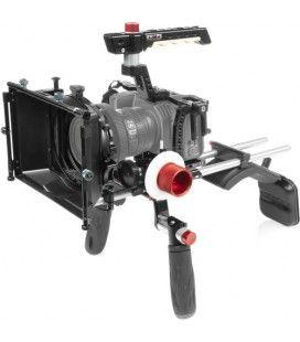SHAPE Blackmagic Pocket cinema 4k, 6k shoulder mount, matte box, follow focus
