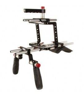 Blackmagic cinema camera shoulder mount