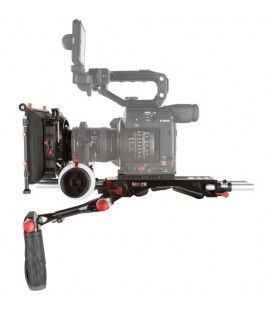 SHAPE Camera Rig with Follow Focus, Handgrips & Matte Box for Canon EOS C200
