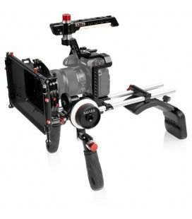 SHAPE Shoulder Mount Kit with Cage, Matte Box & Follow Focus for Panasonic S1/S1R/S1H
