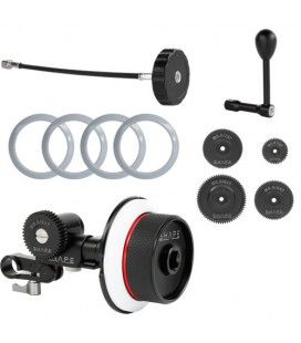 SHAPE Follow Focus Kit with Single 15mm Rod Clamp