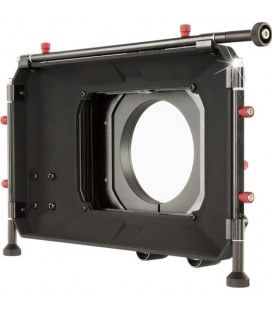 """SHAPE 2-Stage 4 x 5.6"""" Clip-On and 15mm LWS Rod-Mounted Matte Box"""