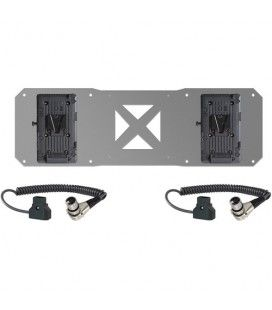 SHAPE 2 x V-Mount Plates & D-Tap Cables for Atomos Sumo