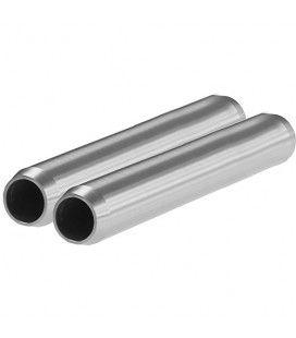 "SHAPE 15mm Aluminum Rods (Pair, 6"")"