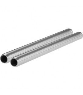 "SHAPE 15mm Aluminum Rods (Pair, 8"")"