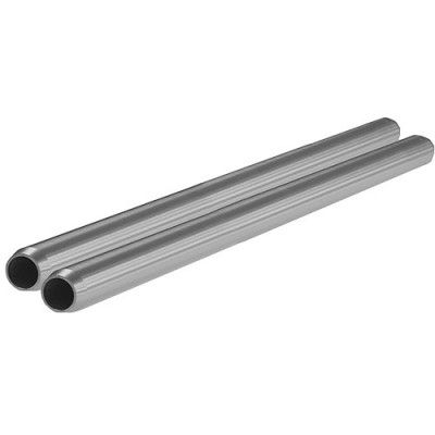 "SHAPE 15mm Aluminum Rods (Pair, 10"")"