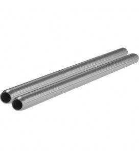 "SHAPE 15mm Aluminum Rods (Pair, 12"")"
