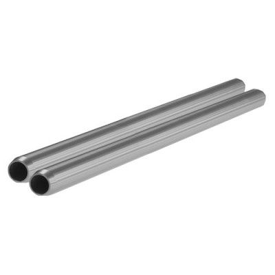 "SHAPE 15mm Rods (Pair, Silver, 14"")"