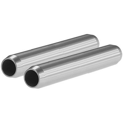 "SHAPE 19mm Aluminum Rods (Pair, 4"")"