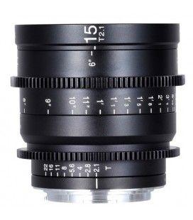 Laowa 15mm t / 2.1 Zero-D Ciné Objective (Metric) RF Mount