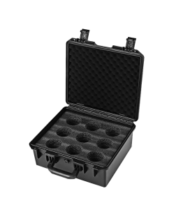 Meike Hard 9-Lens Case for T2.2 Cine Lenses