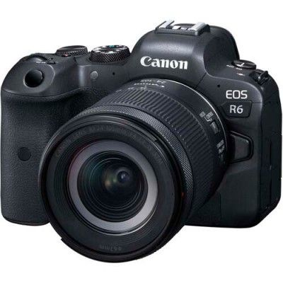 Canon EOS R6 Mirrorless Digital Camera with RF 24-105mm F4-7.1 IS STM Lens