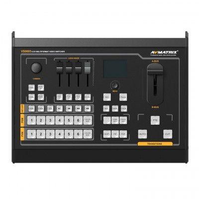 AVMATRIX VS0605U 6CH SDI/HDMI Multi-format Video Streaming Switcher