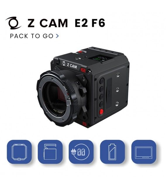 Pack To Go ZCam F6 EF mount
