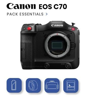 Canon EOS C70 Pack Essentials