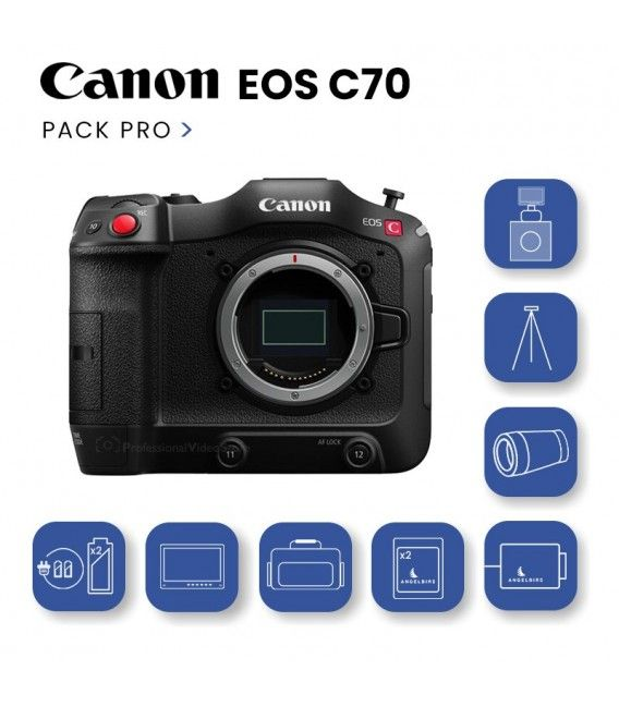 Pack PRO Canon EOS C70