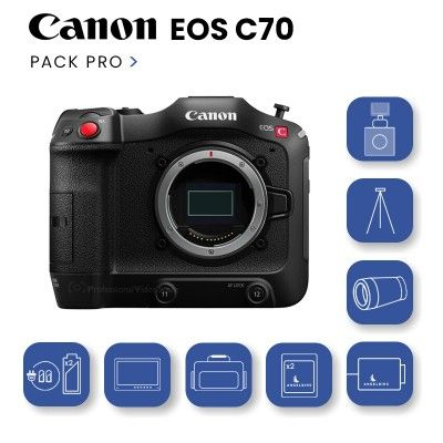 Canon EOS C70 Pack PRO