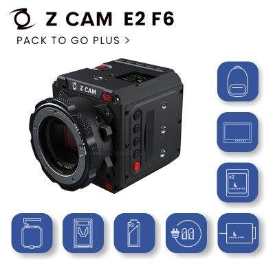 Z-Cam E2 F6 Pack To Go Plus