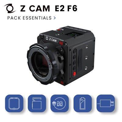 Z-Cam E2 F6 Pack Essentials