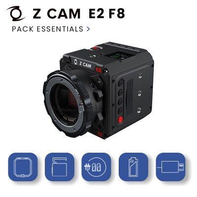 Z-Cam E2 F8 Pack Essentials