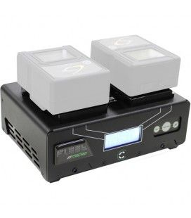 Core SWX Fleet Micro 3A Digital Dual Charger for Gold Mount Batteries