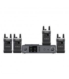 Hollyland MARS T1000. Intercom Audio System with 4 flasks. 350m, Tally