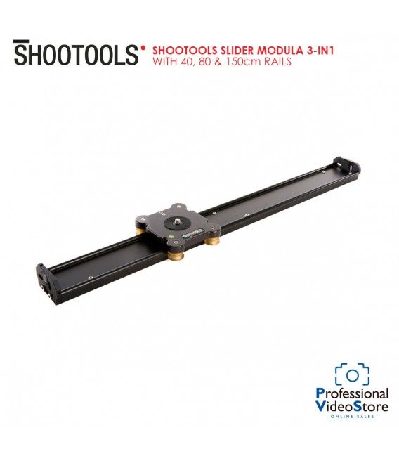 Shootools Slider Modula 3-in-1 with 40, 80 & 150cm Rails