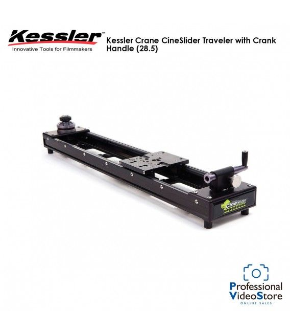 Kessler Crane CineSlider Traveler with Crank Handle (28.5)