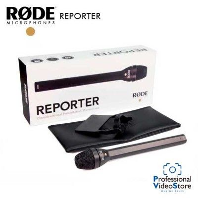 RODE THE REPORTER
