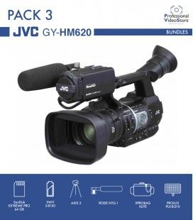 PACK 3 JVC GY-HM620