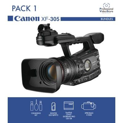 PACK 1 CANON XF305