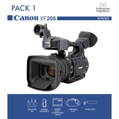PACK 1 CANON XF205