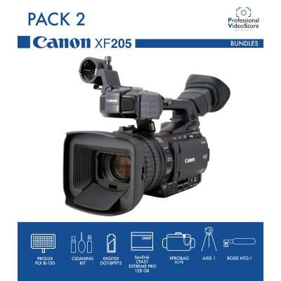 PACK 2 CANON XF205