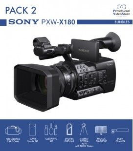 PACK 2 SONY PXW-X180 (Discontinued)