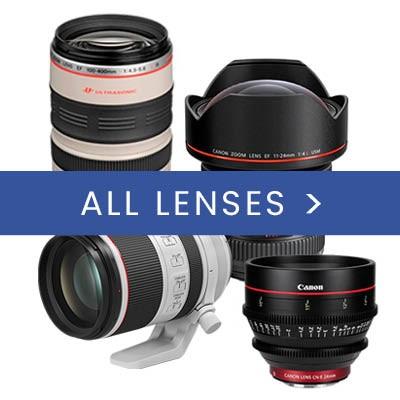 All Canon lenses