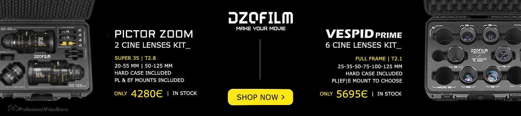 Dzofilm Lenses Kit