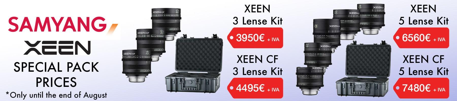 Samyang XEEN kits